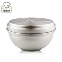 理想牌極緻316不鏽鋼隔熱碗(附蓋)上蓋可當菜盤12cm/14cm/16cm-大廚師百貨