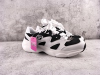Skecher Unsex Sneakers Women's and Men's Shoes D'lites Fashion Sneakers