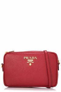 Prada Saffiano Lux Shoulder Bag Sling