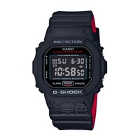 Vintage Square Casio/Casio Watch Male G-Shock Sports with Numbers Electronic Watch DW-5600HR-1