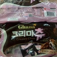【現貨】最新包裝 韓國Ghana 巧克力花生堅果麻糬