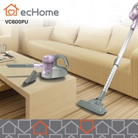 ecHome Cyclonic Handy Vacuum Cleaner Corded Upright Bagless HEPA Filter Lavender