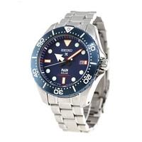 SEIKO Titanium Prospex PADI Solar DIVER 200 M  นาฬิกาข้อมือผู้ชาย สายไทเทเนียม รุ่น SBDJ015