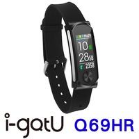 雙揚i-gotU Q69HR 心率智慧手環-彩色顯示螢幕(針扣式錶扣)
