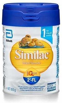 Similac 2 -FL STAGE 1 Baby Formula 850g