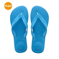 Dupe Brazil New Style Rubber Shock Absorber Air Cushion Solid Color Men Solid Color Flip-flops Flat Heel Anti-slip Leisure Sandals