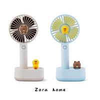 正品現貨 LINE FRIENDS 熊大莎莉 手持電風扇 手持風扇 立式風扇 USB風扇