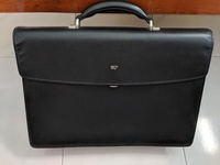 Braun Buffel Leather Bag/Briefcase