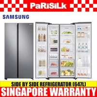 Samsung RS62R5004M9/SS Side by Side Refrigerator (647L) 2 Ticks