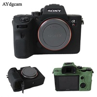 Nice Soft Camera Video Bag For Sony A7III A7R3 A7 mark 3 A7 III Silicone Case Rubber Camera case