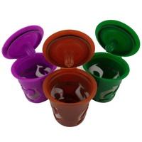 【遠方之家】咖啡過濾器便攜式膠囊可重複使用過濾器新K-Carafe K-Cup勺子套裝咖啡茶具Keurig 2.0機器新