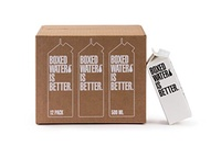 Boxed Water Boxed Water 16.9 ounce 12 pack, Better than plastic bottled water, BPA free drinking wat