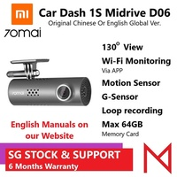 Xiaomi 70Mai Wi-Fi Car Dash Cam 1080P Car DVR Chinese/Eng Voice Export Ver by Mojo Systems Solutions