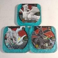 【Pokemon】正版 神奇寶貝 tretta 四星 三龍全套D 8-01雷希拉姆、8-02捷克羅姆、8-03酋雷姆