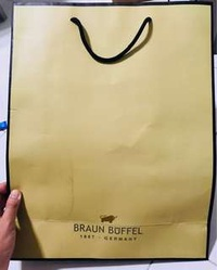 Braun Buffel Large Paper Bag