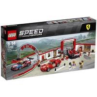 【MR W】LEGO 樂高 積木 SPEED 賽車系列 法拉利終極車庫 75889