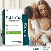 【GNC 健安喜】溶在口中 LAC Full-Cal優鎂鈣 30包/盒(檸檬酸鈣+鎂)
