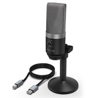 FIFINE TECHNOLOGY USB Microphone,FIFINE PC Microphone for Mac and Windows Computers,Optimized for Re
