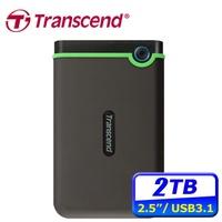 創見 25MC 2TB USB3.1(Gen 1) Type-C 2.5吋行動硬碟