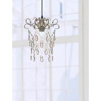 玫瑰金扁鐵框壓克力珠吊燈-BNL00049
