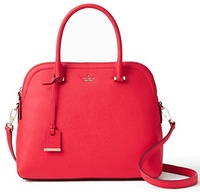 (Kate Spade New York) kate spade new york Cameron Street Margot Leather Satchel Bag (Rooster Red)-