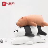 Miniso We Bare Bears- Lying Plush Toy/Plush Toy/Cute Toy/Birthday Gift