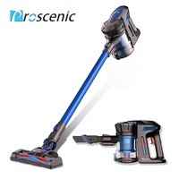 Proscenic P8 Lightweight Cordless Vacuum Cleaner,Cordless Stick Vacuum,Two Speeds Suction Power, Detachable Bagless Handheld Vacuum 3-Pin Plug