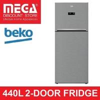 BEKO RDNT440E50VZX 440L 2-DOOR FRIDGE