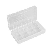 Xtar Battery Case Holder Protective Box for 4×16340 or 4×18650 or 2×18650 or Other Smaller Battery