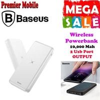 Baseus 10,000 Mah Wireless QI Powerbank M36
