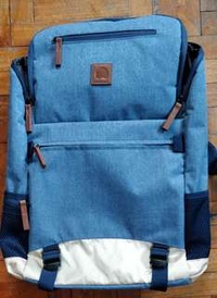 Delsey Blue Maubert Backpack