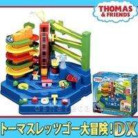 *啵比小舖*日本進口 Thomas 湯瑪士小火車 軌道大冒險DX 手動 益智邏輯 訓練遊戲