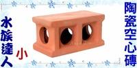 【水族達人】陶瓷《陶瓷空心磚.小》裝飾、魚兒躲藏、產卵