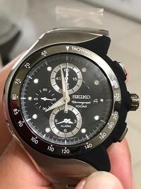 舒福哥- seiko太極三眼計時鬧鈴碼錶snad43p1(現貨x1)