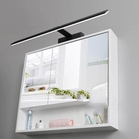 LED waterproof and fog Nordic bathroom mirror lights mirror lights modern minimalist bathroom mirror cabinet light,B