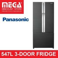 PANASONIC 547L NR-CY558 3-DOOR FRIDGE (2 TICKS)