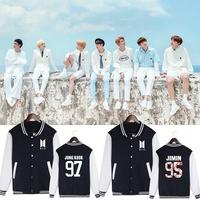 防彈少年團 BTS BT21 樸智旻 花樣年華專輯款防彈少年團周邊同款應援服男女棒球服加絨外套