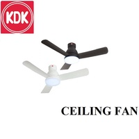 ORIGINAL KDK 48FP CEILING FAN WITH LIGHT AND REMOTE CONTROL