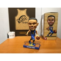 NBA搖頭娃娃 公仔 Stephen Curry 勇士2017惡搞公仔 全新含盒裝