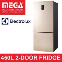 ELECTROLUX 450L EBE4502GA 2-DOOR INVERTER FRIDGE (3 Ticks)
