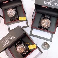 (現貨+預購)限量款 INVICTA 漫威系列 黑豹  玫瑰金 電纜表圈 不鏽鋼腕錶