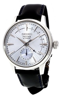 SEIKO PRESAGE Power Reserve Ice Blue Cocktail Time