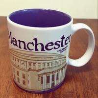 英國曼徹斯特Manchester星巴克城市杯starbucks馬克杯