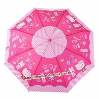 正版原裝 凱蒂貓 Hello Kitty 兒童雨傘 三折傘-KT兔子款