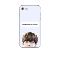 BTS V Jungkook Kpop Suga Bangtan Boys Korea Phone Cases for iphone 5 5s SE 5C 6 6s 6plus 6splus 7 7p