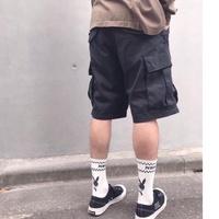 Wtaps 19SS CARGO SHORTS / SHORTS. NYCO. OXFORD 黑色 短褲 工作褲 軍褲