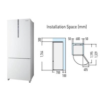 Panasonic NR-BX468GW 2 Door Fridge