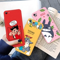 Cartoon Case For Vivo X20 Plus X21i Y67 Y71 Y73 Y79 Y85 Z1 Z3X Mighty Atom Painted Soft TPU Cover