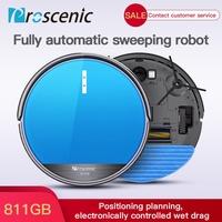 Proscenic 811GB Robot Vacuum Cleaner Automatic Floor Robotic Smart Sweeper Mop