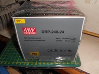 MW 明緯 電源供應器 DRP-240-24 IN:100~240V OUT:24V / 10A